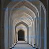 """The Madrassah Hallway"",  Hallway, Mirl i Arab Madrassah, Bukhara, Uzbekistan"