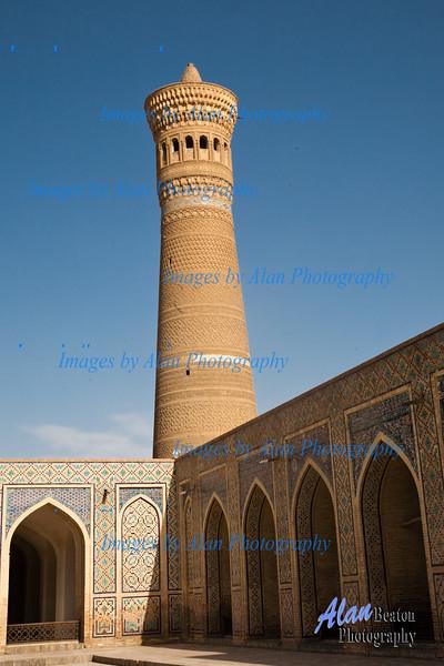 Kalon Mosque Minaret, Bukhara, Uzbekistan