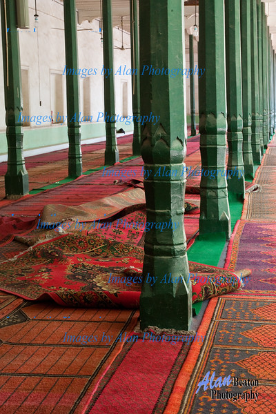 Interior of Id Kar Mosque, Kashgar