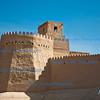 Watchtower on City Walls, Khiva, Uzbekistan