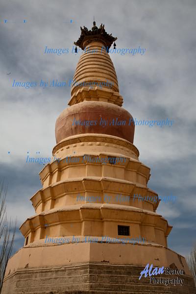 White Horse Pagoda, Dunhuang