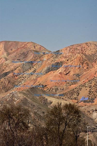 Flaming Mountains, Turpan