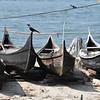 Fishing boats in Kochi