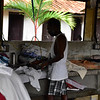 Laundry - originally set up by the Dutch for Indian employment