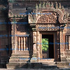 Temple doorway with bas reliefs