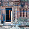 Temple doorway and bas reliefs