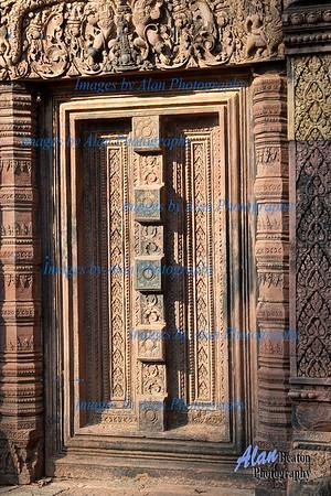 Blind Door Banteay Srei