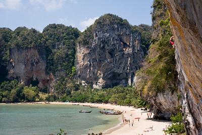 Ton Sai Beach, climbers' paradise