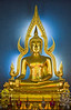 Buddha statue in Wat Benchamabopitr
