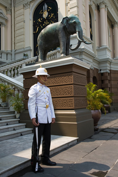 Guarding the Royal Palace
