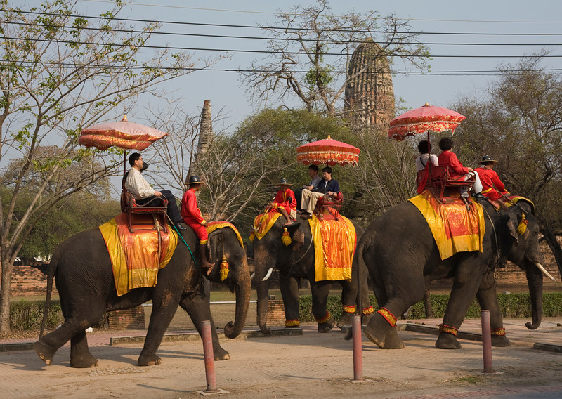 Local transportation in Ayutthaya