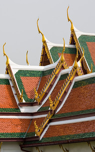 Detail of Wat Phra Keo