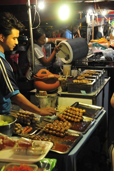 Ayutthaya - night market