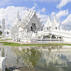 Wat Rong Khun (The White Temple) is a contemporary unconventional and contreversial  Buddhist temple in Chiang Rai, Thailand