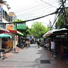 Khao San Road - Bangkok's backpackers mecca -- very quiet and peaceful area.