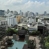 "View from our Bangkok hotel - Bangkok ""the City of Angels"""