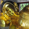Chiang Mai old town temple - smaller version of the reclining buddha