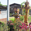Along the road between Sukhothai and Chaing Rai -- shrines to Buddha or the spirits at every home