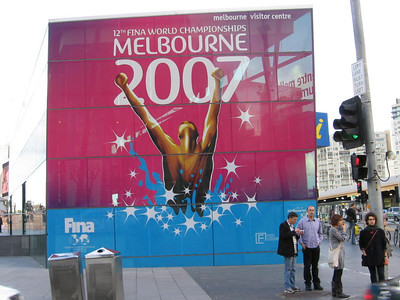 2007 Melbourne, Australia (includes World Swimming Championships)