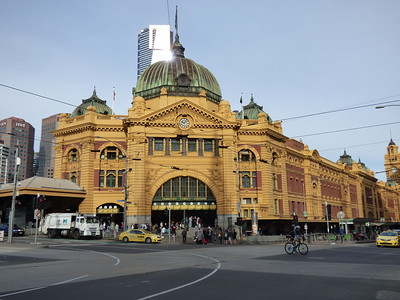 Flinders Street Station - bought my transit pass here