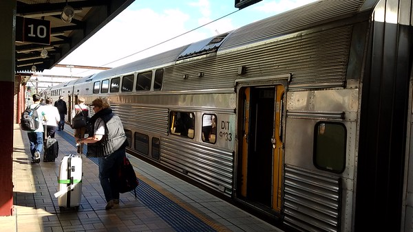 train from Sydney Central to Newcastle