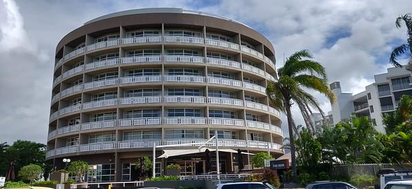 Doubletree Cairns - have 3rd floor ocean view rooms