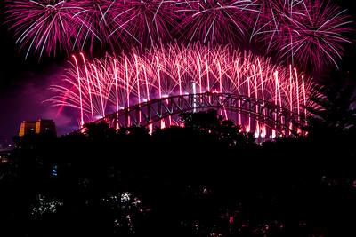 2018  SONY Australia fireworks_98