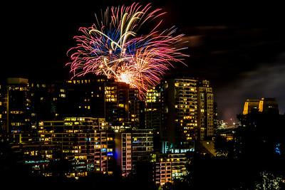 2018  SONY Australia fireworks_78