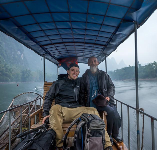 Bamboo Rafting on the Lijang, Guilin