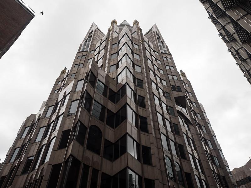 An impressive Neo-Gothic development in the City.