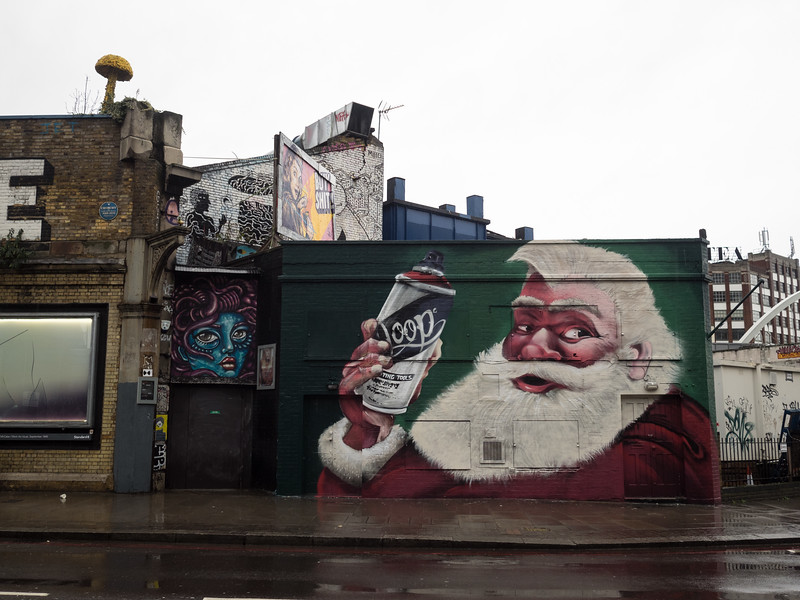 A hipster Santa Claus. He's got the beard, anyway. Prince Philip probably thinks he's a terrorist.