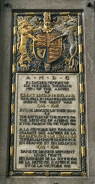 WWI Memorial - Great Britain & Ireland