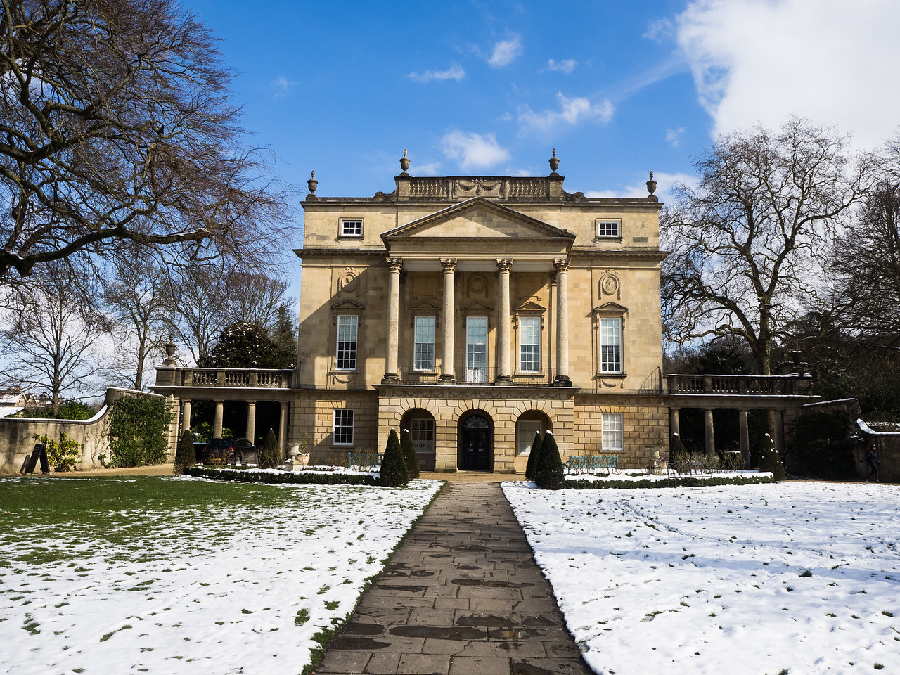 The Holburne museum, in Sydney Gardens.
