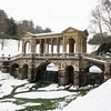 The fantastic Palladian bridge at Prior Park. There are only three other bridges like this in the world.