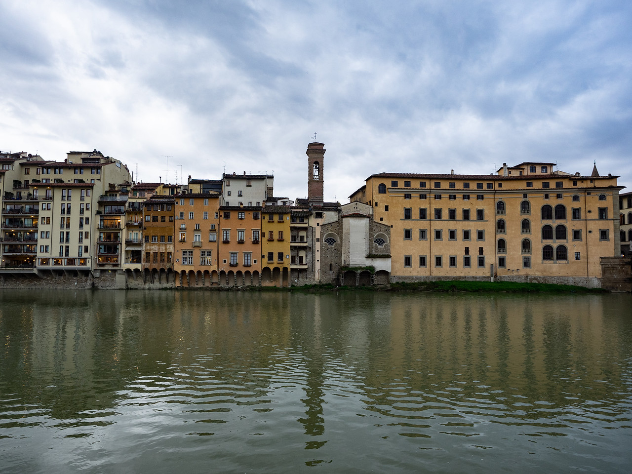 View across the River Arno.