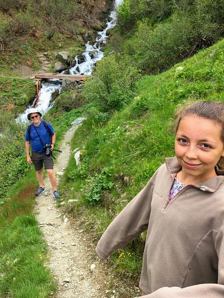 Hiking near La Ferrière