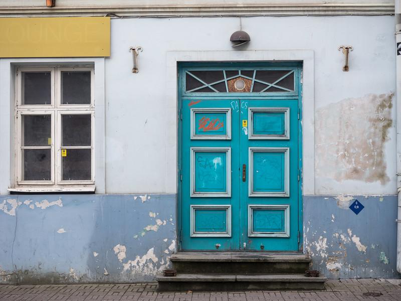 Everywhere I walked I found brightly-coloured doors.