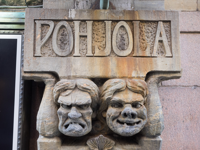 Helsinki is full of quirky little architectural details like this.