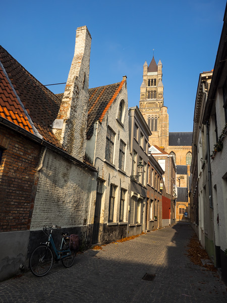 On my second day I took the train to the beautifully preserved Medieval city of Bruges, only 20 minutes away from Ghent. This was on the way into the centre of the town.