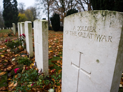 A war cemetery near the Menin Gate. This cemetery had a section where Maori soldiers were buried. It was striking how the dead had come from all four corners of the planet, to die in this one place.