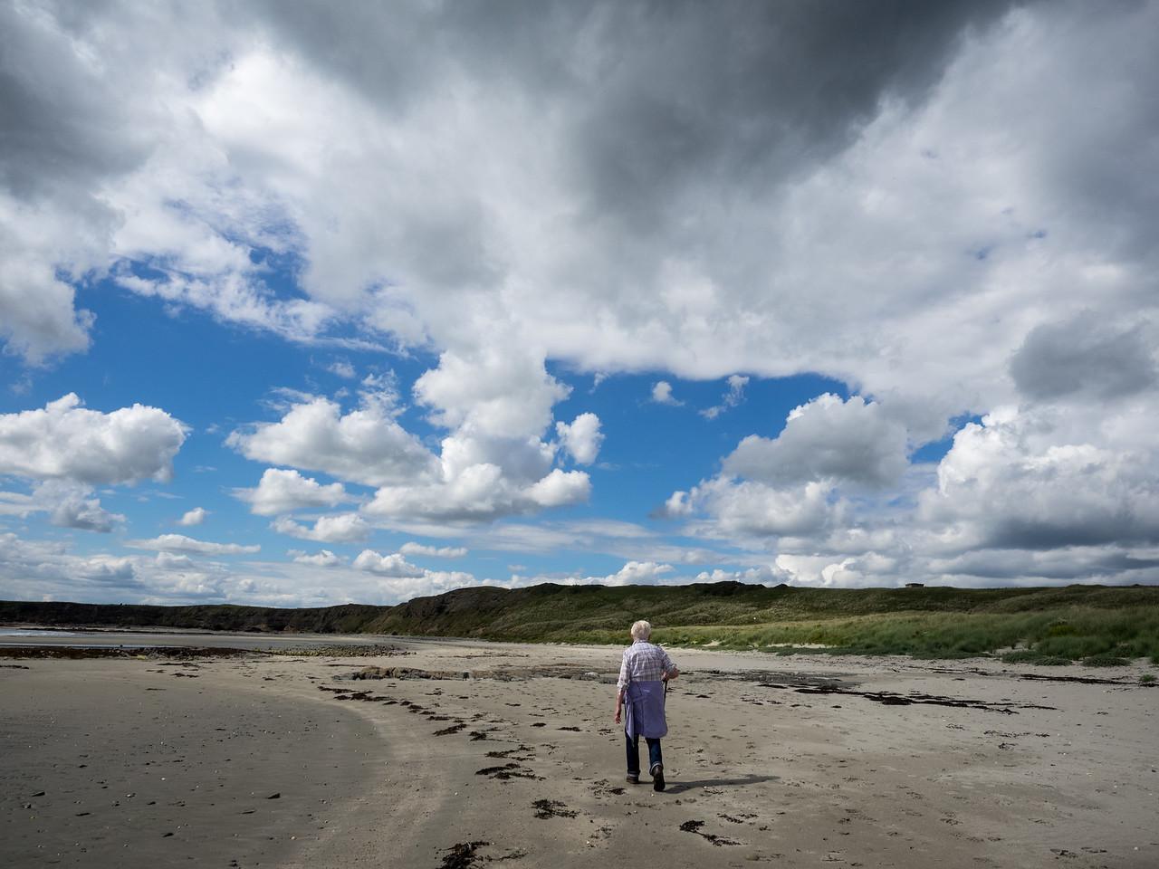 Sand and big skies.