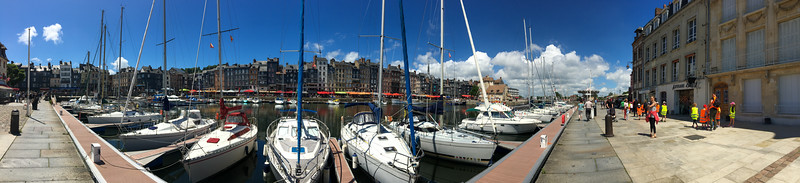 Honfleur Old Port Panorama