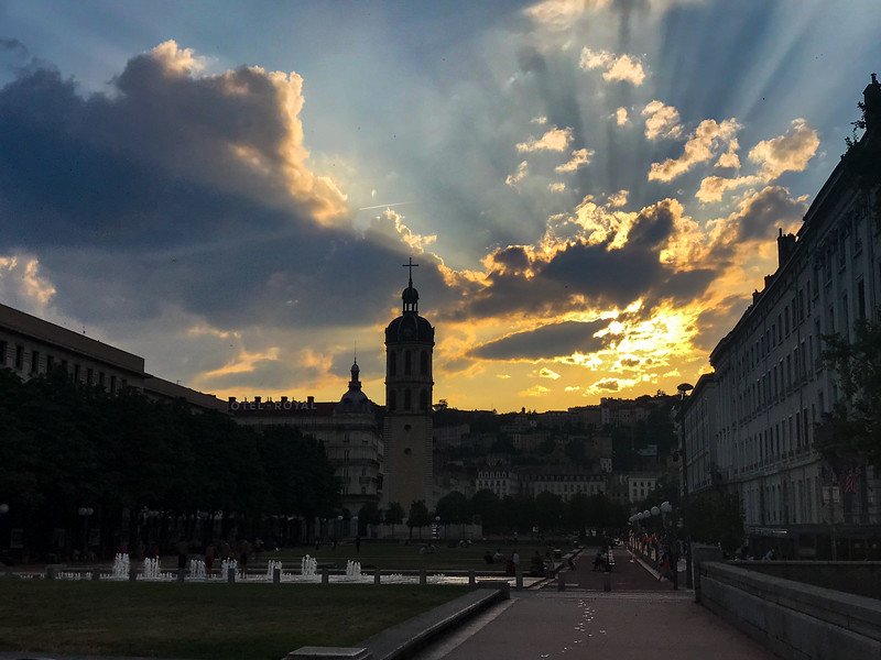 Sunset in Lyon