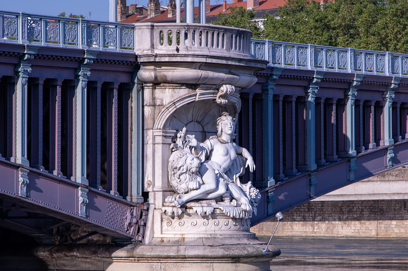 Just Another Classical Sculpture on a Bridge