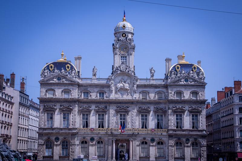The Hôtel de Ville de Lyon
