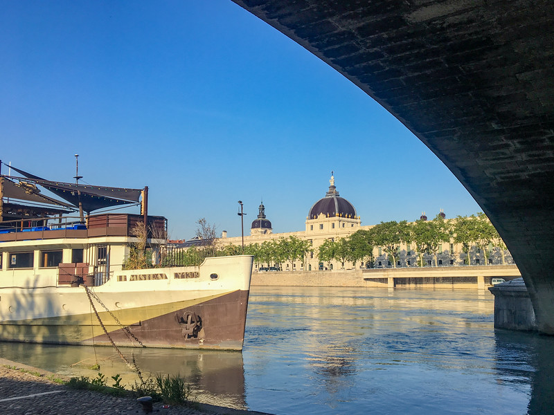 Walking Along The Rhône River