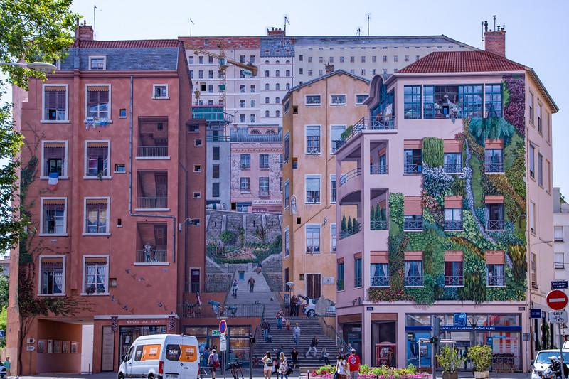 Mural - La Fresque des Canuts