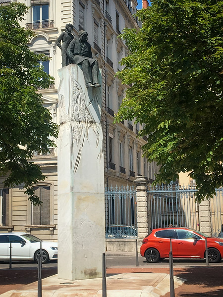 Monument to Antoine de Saint-Exupéry