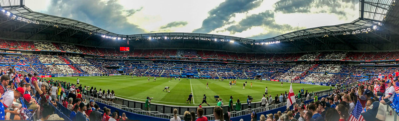 Lyon Stadium from our Seats