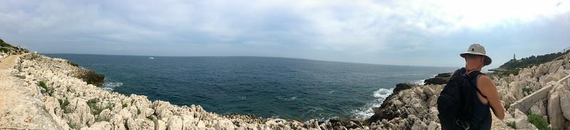 Hiking in Cap Ferrat